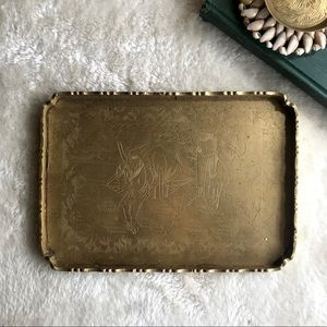 Other - Chinese Brass Tray